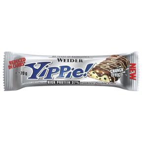 01.10.2019     Weider Nutrition Yippie! Bar - 12 x 70gr